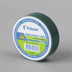 Isoleerteip 19mmx20m, 120µm, roheline, PVC