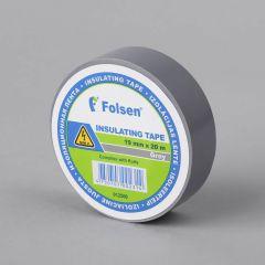 Isoleerteip 19mmx20m, 120µm, hall, PVC