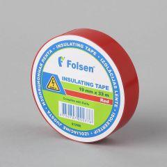 Isoleerteip 19mmx33m, 120µm, punane, PVC