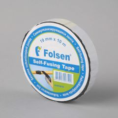 Self-fusing tape 19mmx10m, black, PIB
