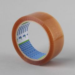Packaging tape Solvent 38mmx66m, 25µm, transp, PP