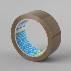 Packaging tape Solvent 38mmx66m, 25µm, brown, PP