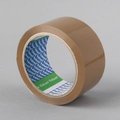 Packaging tape Solvent 48mmx66m, 25µm, brown, PP