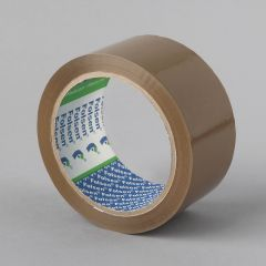 Packaging tape Hot Melt 48mmx66m, 25µm, brown, PP