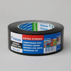Universal adhesive tape Extra Strong 48mmx50m, 270µm, black, fabric/PE