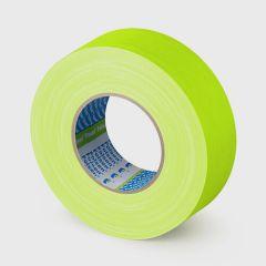 FLUO Premium Gaffer yellow cloth tape 48mmx50m, 300µm