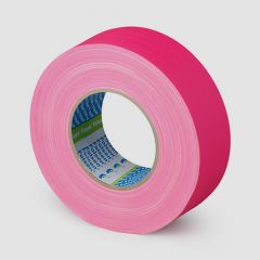 FLUO Premium Gaffer pink cloth tape 48mmx50m, 300µm