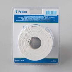 Waterproof bathroom tape 60mmx3,35m, white, butyl/silicone