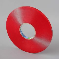 Kahepoolne teip 12mmx33m, paksus 1mm, läbip, akrüül