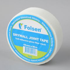 Fiberglass mesh tape 48mmx90m, white