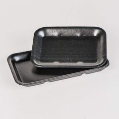 Black foam tray 70, 180x135x16mm, EPS, 1000pcs/box