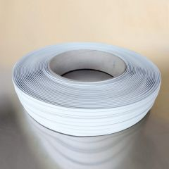 Sulgurlint Clipband 8mmx600m, paksus 0,6mm, valge, PP/teras