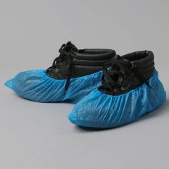 Water resistant blue shoe covers UNI, PP, 100pcs/pack