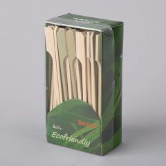 Paddle bamboo appetizer sticks 120mm, 100pcs/pack