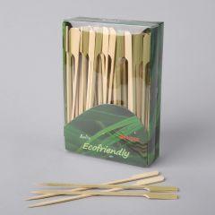 Suupistetikk 180mm, pruun, bambus, pakis 250tk