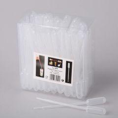 Gurmeetoidu pipett 1ml, 145mm, läbip, PE, pakis 100tk