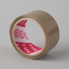 Acrylic packaging tape 48mmx60y, 25µm, brown, PP