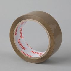 Acrylic packaging tape 36mmx66m, 25µm, brown, PP