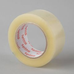 Acrylic packaging tape 48mmx132m, 25µm, transp, PP
