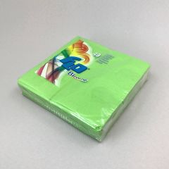 Heleroheline salvrätik Bicolor 330x330mm, paber, pakis 40tk